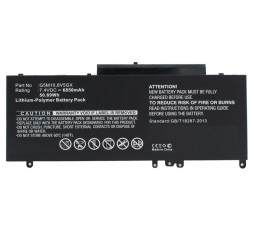 Slika proizvoda: CoreParts Battery for Dell 51Wh Li-Pol 7.4V 6460mAh