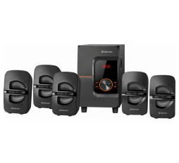 Slika proizvoda: Defender Technology 5.1 Speaker system Cinema 52 52W, Bluetooth, FM radio, built in MP3 player, SD card / USB, Wireless remote control