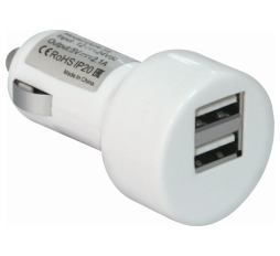 Slika proizvoda: Defender Technology ADAPTER UCA-15 Car adapter, 2 port USB, 5V/2A, blister