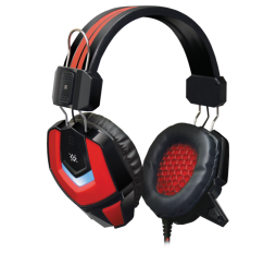 Slika proizvoda: Defender Technology Slusalice  Ridley , Gaming headset, black+red, cable 2.2 m