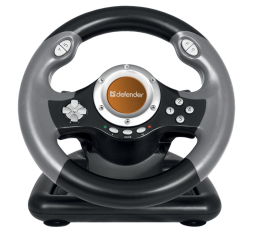 Slika proizvoda: Defender Technology Volan CHALLENGE MINI LE, Gaming wheel, USB, mini, 10 buttons