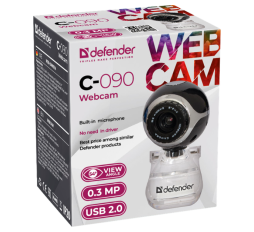 Slika proizvoda: Defender Technology Webcam C-090, 0.3MP, black