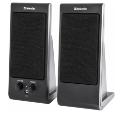Slika proizvoda: Defender Technology Zvučnici SPK-170, 2.0 Speaker system, black, 4W, USB powered