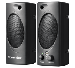 Slika proizvoda: Defender Technology Zvučnici SPK 50, 2.0 Speaker system, black, 6W, USB powered