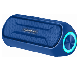 Slika proizvoda: Defender Technology Zvučnik Enjoy S1000 Portable Bluetooth speaker BLUE, 20W, LED backlight, Hands free function, BT 4.2 / AUX