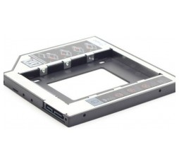 Slika proizvoda: Gembird Slim mounting frame for 2.5'' drive to 5.25'' bay, for drive up to 9.5 mm
