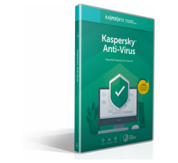 Slika proizvoda: Kaspersky Anti-virus 2020 1 device 1 year Base Box