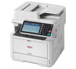 Slika proizvoda: OKI Štampač MB492dn All-in-One A4, Print 40ppm 1200x1200dpi, Copy 37ppm, Scan 600dpi, Fax, input tray 250-sheet+100sheet+ADF 50-sheet, CPU 667MHz, RAM 512MB, Duplex, LAN, up to 80000 monthly (3k/7k/12k strana)