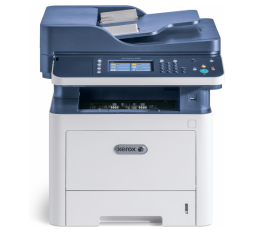 Slika proizvoda: Xerox Štampač Workcentre 3335V/DNI MFP A4, Print 33ppm, Copy, Scan (Scan to email, scan to network), FAX, Duplex, ADF 50 listova, CPU 1GHz, Memory 1.5GB, paper input 250 + 50 listova, Gbit  Ethernet, Hi-Speed USB + Wireless, do 50000 strana mjesečno